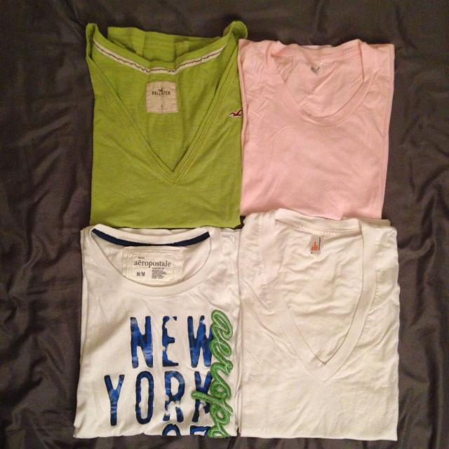 01e283e0 Find more Lot Of 4 Assorted Cotton Blend T-shirts (size S-m ...