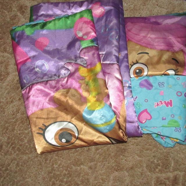Bubble Guppies Toddler Bedding Set