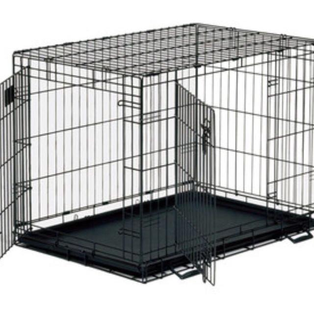 Find More Price Dropped Top Paw Double Door Dog Crate For Sale