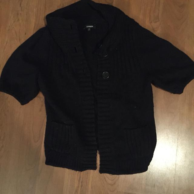 fa63a7969e44 Best Black Express Sweater Jacket Size Small Brand New Condition  15 ...