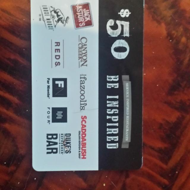 Best 50 Dollar Gift Card For Jack Astor's for sale in Barrie, Ontario for 2019