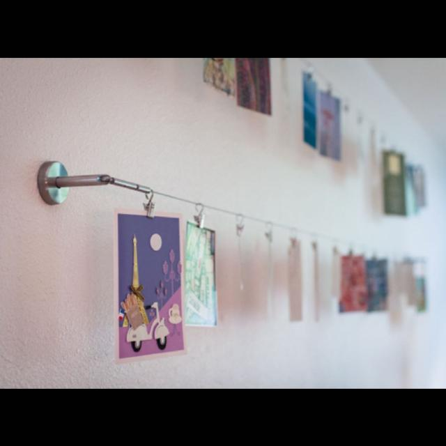 Ikea Hanging Wire And Hooks Clips