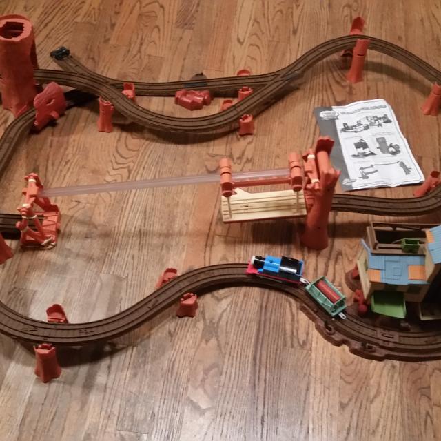 Best Trackmaster Zip Zoom Logging Adventure Thomas The Train Track