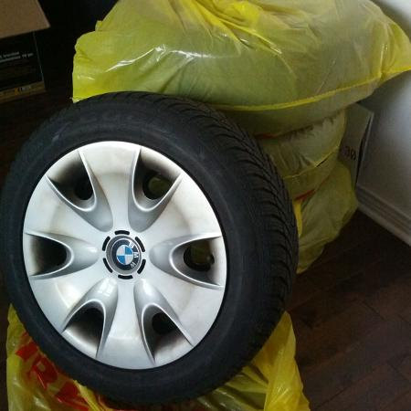 "Used, 16"" BMW rims and Goodyear Eagle Ultra... for sale  Canada"