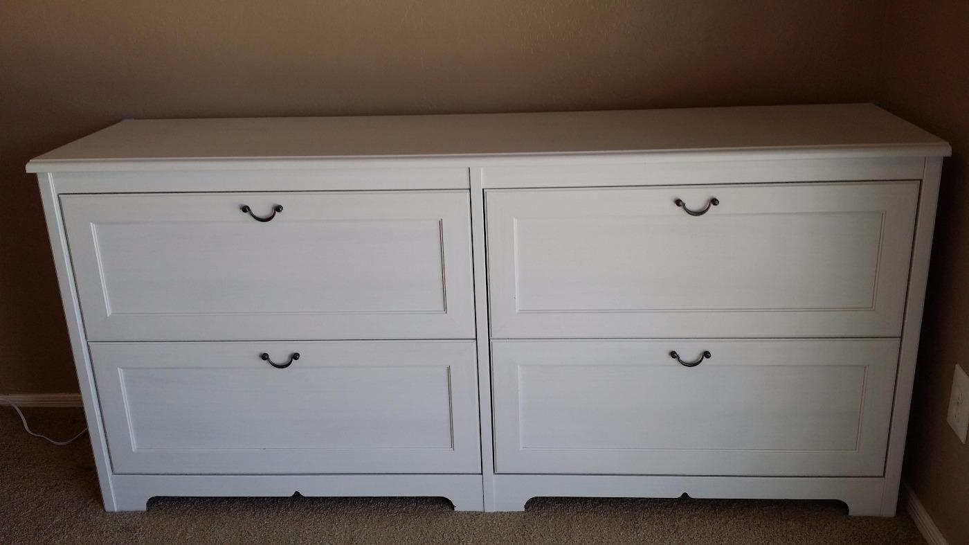 Find More Dresser 4 Drawer Ikea Aspelund White For At Up To 90 Off