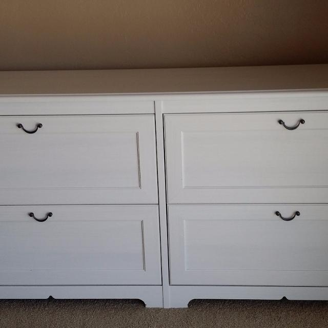 Dresser 4 Drawer Ikea Aspelund White