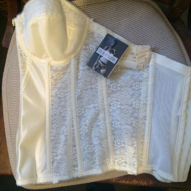 5d8a532f650e Best 36c Ivory Dominique Satin And Lace Torsolette, for sale in Kerrville,  Texas for 2019