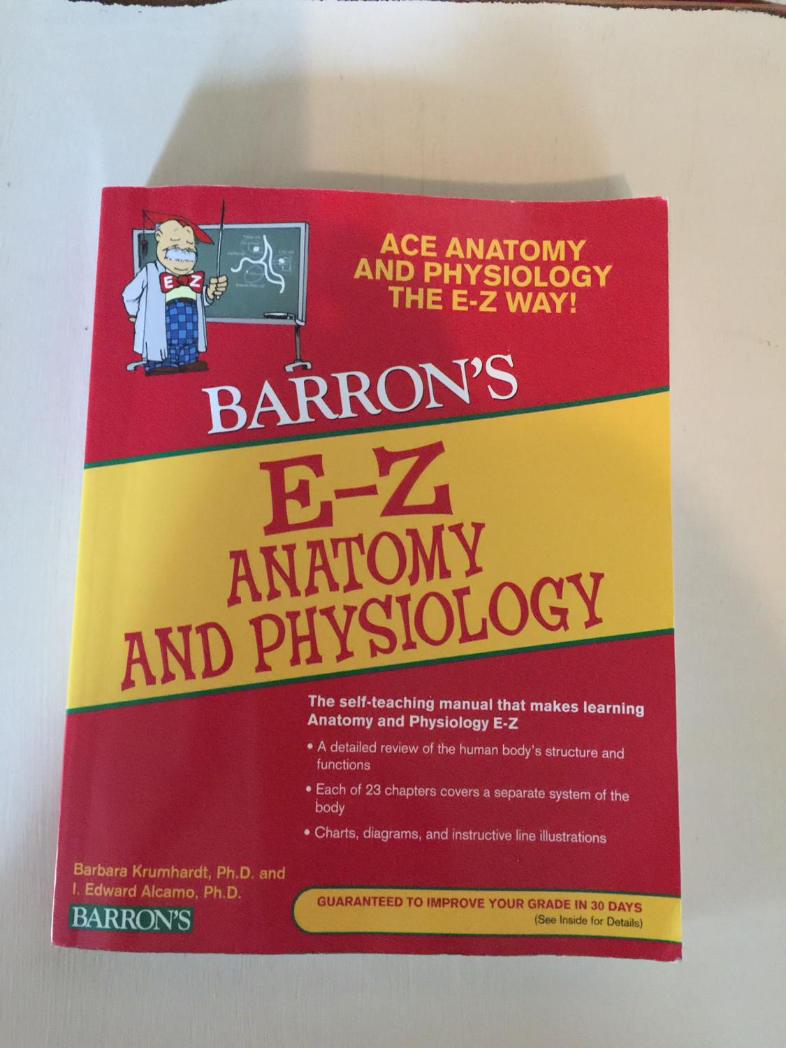 Find more Barron\'s E-z Anatomy & Physiology for sale at up to 90% off