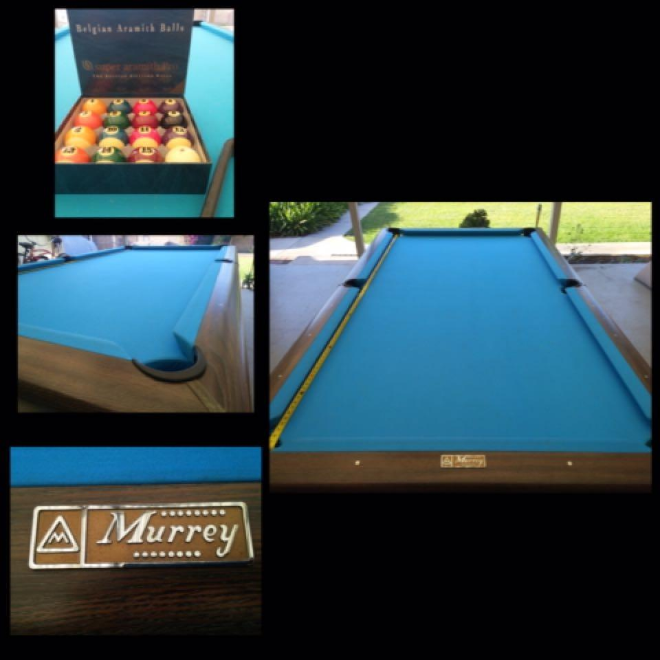 Find More Murray Pool Table For Sale At Up To Off - Murrey billiard table