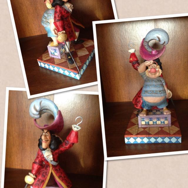 Enesco Disney Traditions Jim Shore Peter Pan Captain Hook Smee Figurine Statute