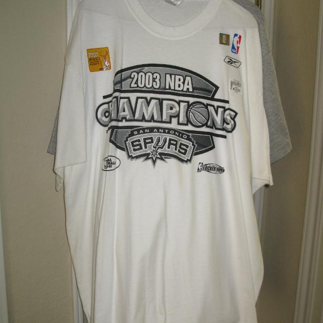Find more San Antonio Spurs 2003 Nba Championship Shirt (poms) for ... f9f6ee358