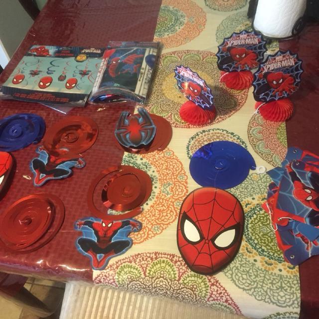 Find More Spiderman Birthday Supplies Door Decorator Happy