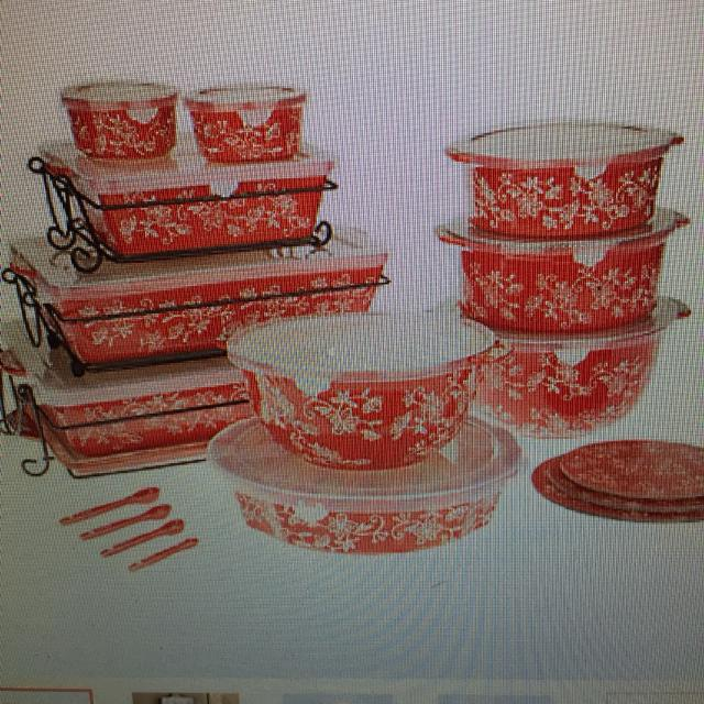 Find more Brand New! Temptations Floral Lace 24-piece Oven To Table ...