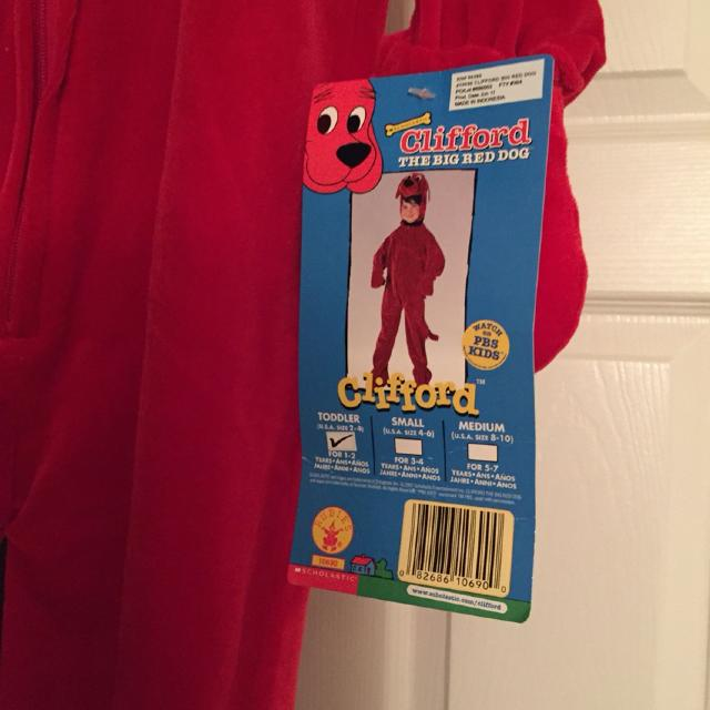 b50c570c1 Find more Nwt Clifford Toddler Costume for sale at up to 90% off