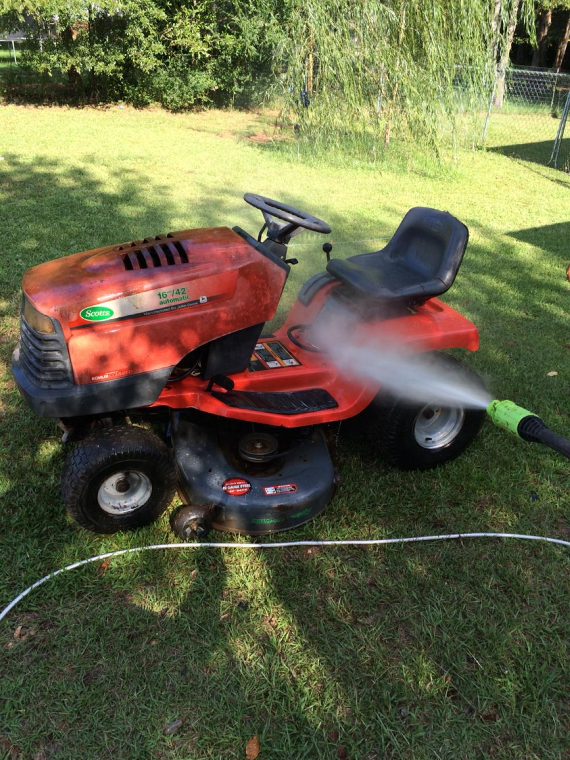 Best Two Riding Mowers For Or Trade Scott S 16 42 In Griffin Georgia 2019
