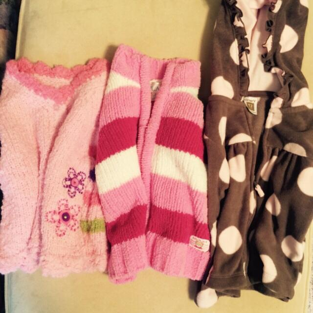 0f835e99612 Best Lot Of Three Baby Sweaters