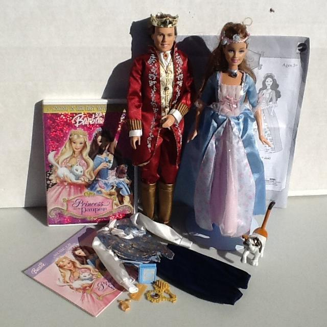 Find More Barbie S Princess And The Pauper Dolls Erika