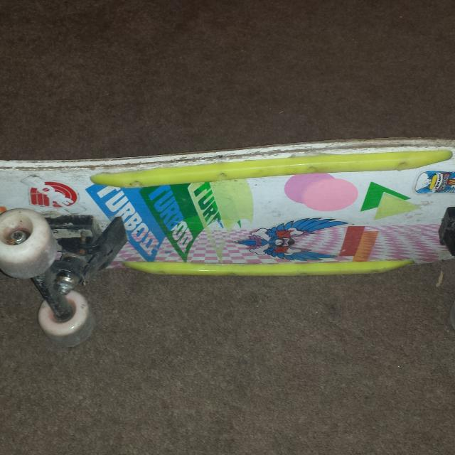 Vintage 80s Turbo I Skateboard