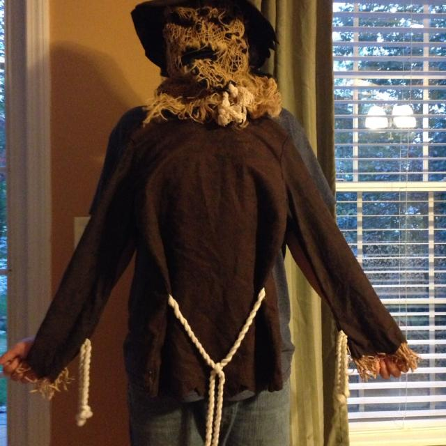 Best New Gloucester, Kids Scary Scarecrow Costume Size 10-12 15.00