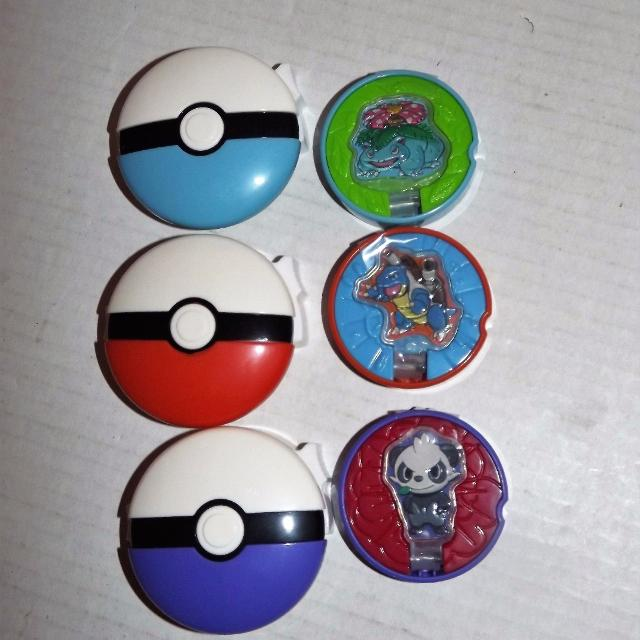find more set of 3 pokemon pokeball disc launcher toys 5 00 for