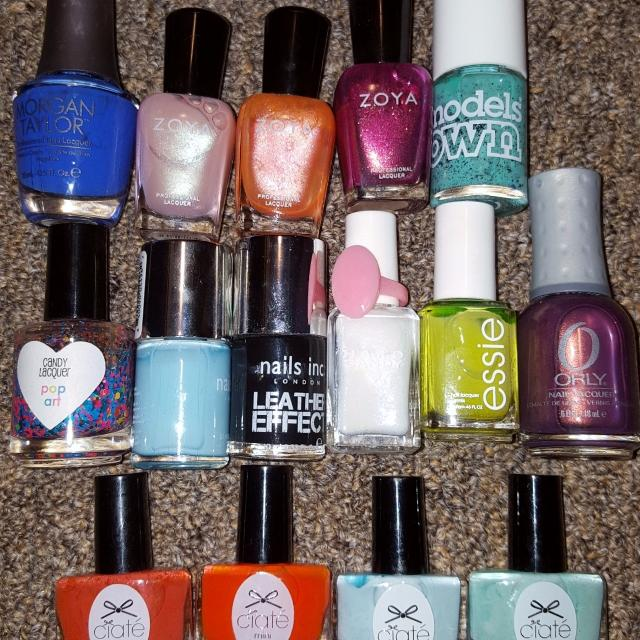 Find more Nail Polish Lot Zoya, Essie, Orly, Nails Inc, Ciate And ...