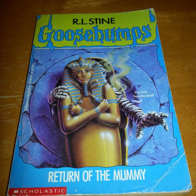 Goosebumps Return Of The Mummy