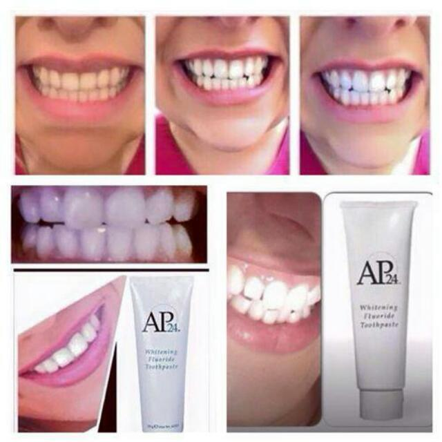 Best Whitening Toothpaste >> Best Ap 24 Whitening Fluoride Toothpaste 100 Peroxide Free For
