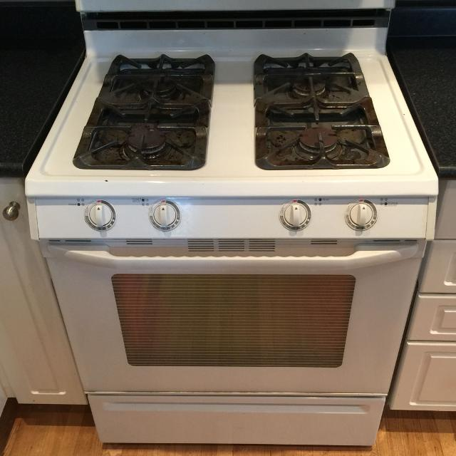 Find More Maytag Gas 30 Gas Range Super Capacity Plus Model White