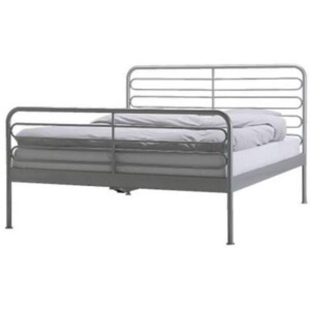 loen metal bed frame from ikea - Metal Bed Frames For Sale