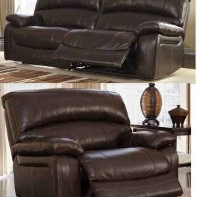 Best Power Reclining Sofa And Wide Seat With Warranty Ashley