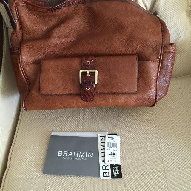 Brahmin Candace Miele Travers With Dust Bag And Registration Card