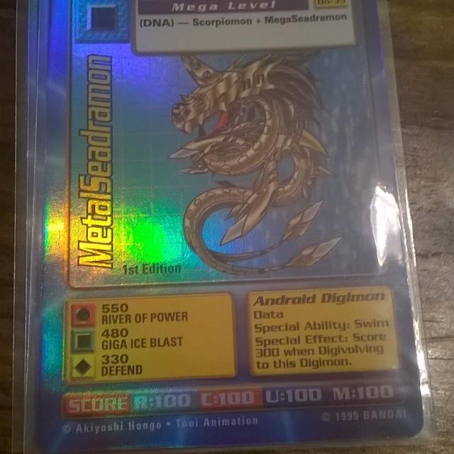 Digimon Card - Metalseadramon