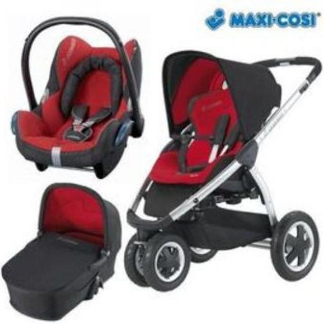 find more maxi cosi mura 3 travel system for sale at up to 90 off. Black Bedroom Furniture Sets. Home Design Ideas