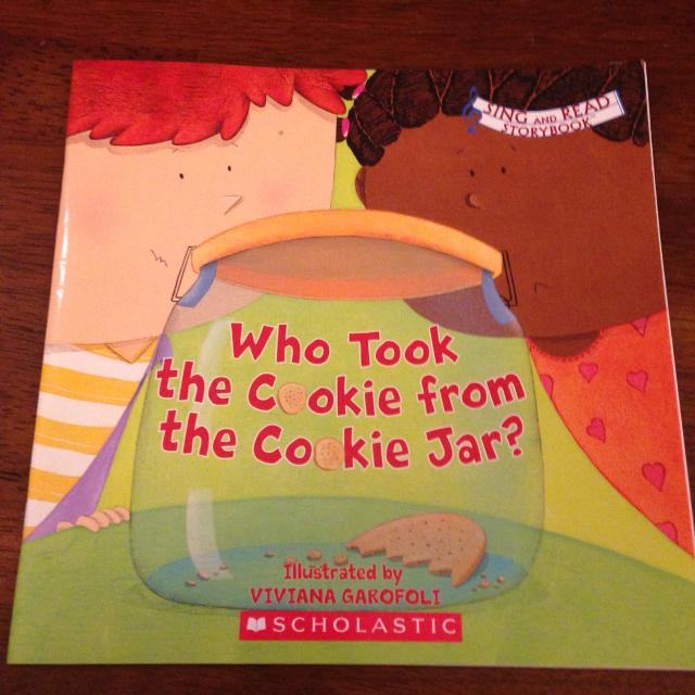 Who Took The Cookie From The Cookie Jar Book Classy Find More Who Took The Cookie From The Cookie Jar Scholastic