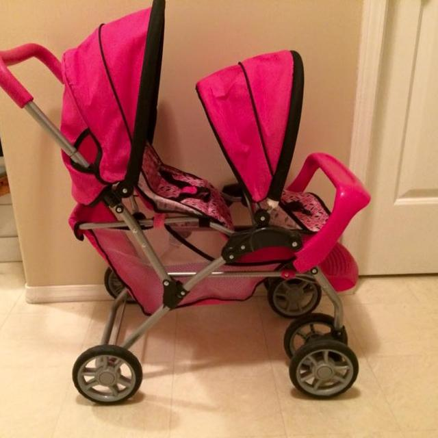 Graco Tandem Doll Stroller And Car Seat See Comments For Pics Of