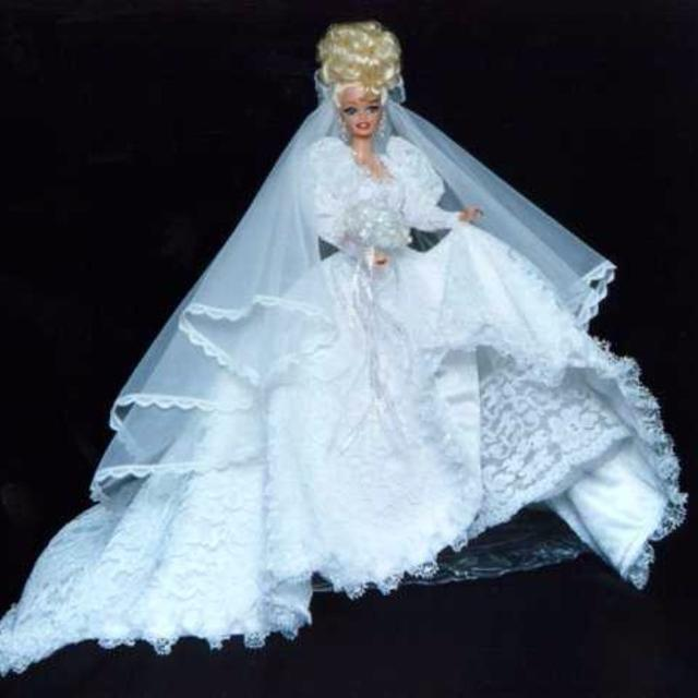 Best Lot Of Five Gorgeous Designer Barbie Doll Gowns for sale in ...