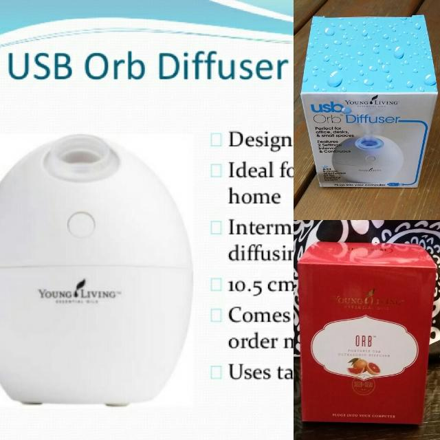 Find More New Young Living Usb Orb Essential Oil Diffuser For Sale
