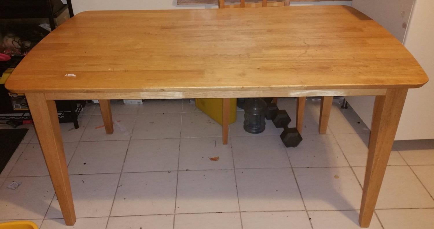 Find More Price Reduced Make An Offer Kitchen Table