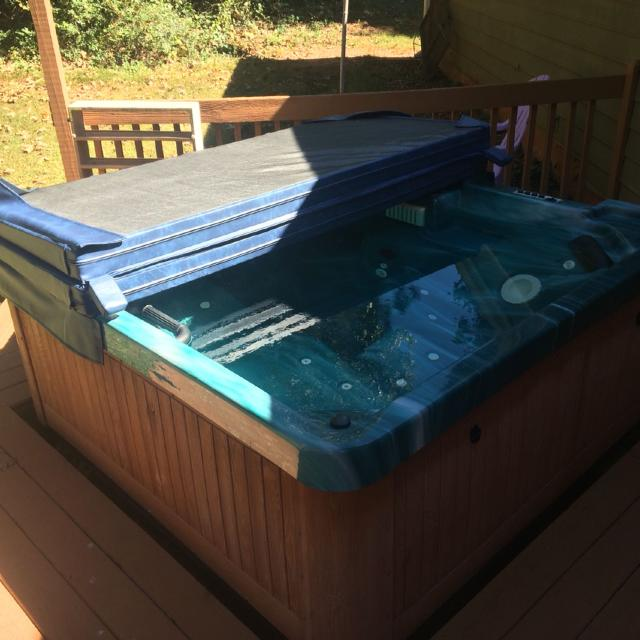 Find more Folding Hot Tub Spa Jacuzzi Cover. for sale at up to 90 ...