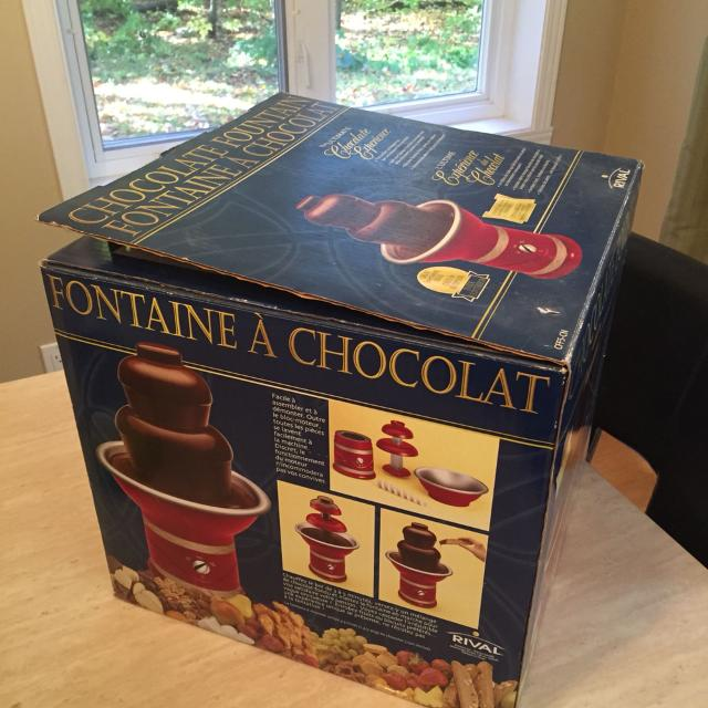 Find More Fontaine A Chocolat Rival Chocolate Fountain For Sale At