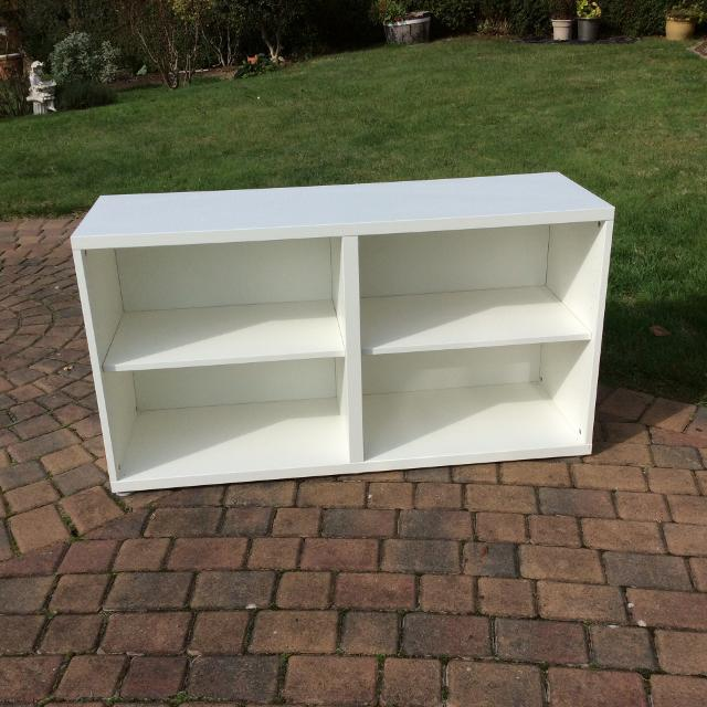 Find more Ikea White Besta Frame With Two Shelves for sale at up to ...