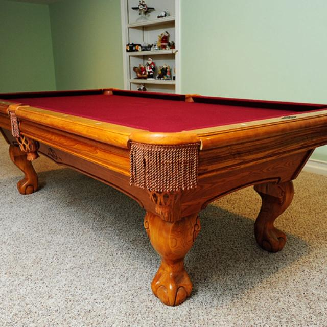 Find More Brunswick Oak Pool Table For Sale At Up To Off - Brunswick oak pool table