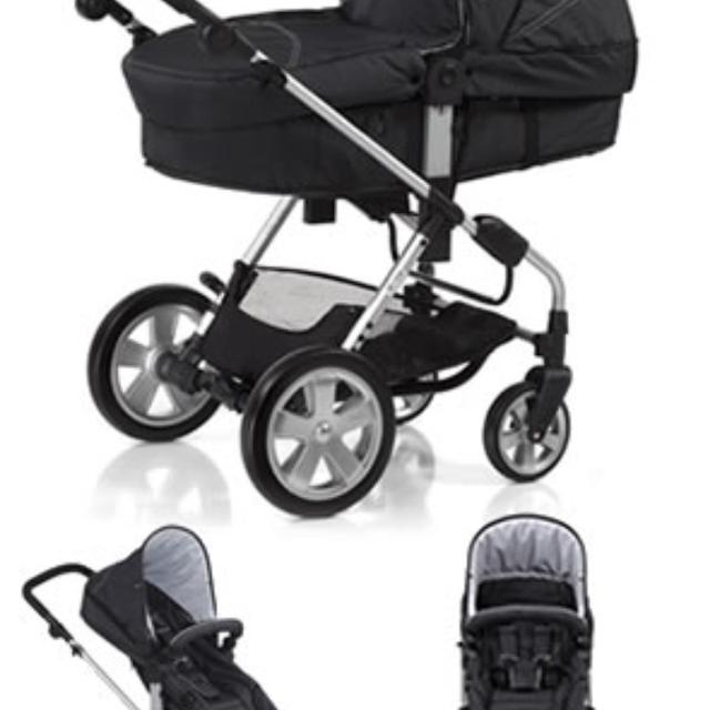 ICoo Pacific Stroller With Universal Car Seat Adapter