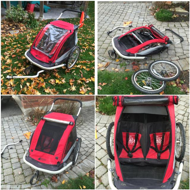 Find More Mec Double Bike Trailer With Stroller Conversion Kit For