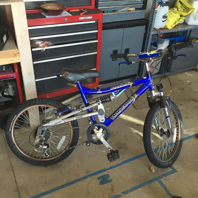 Find More Mongoose 7 Speed 20 Inch Bmx Bike With Shocks For Sale