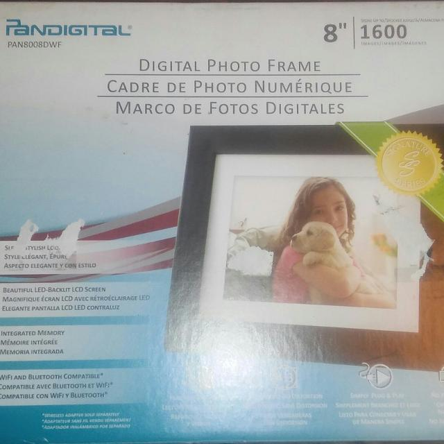 Find More Pandigital 8 Inch Photo E Mail Digital Photo Frame Mp4