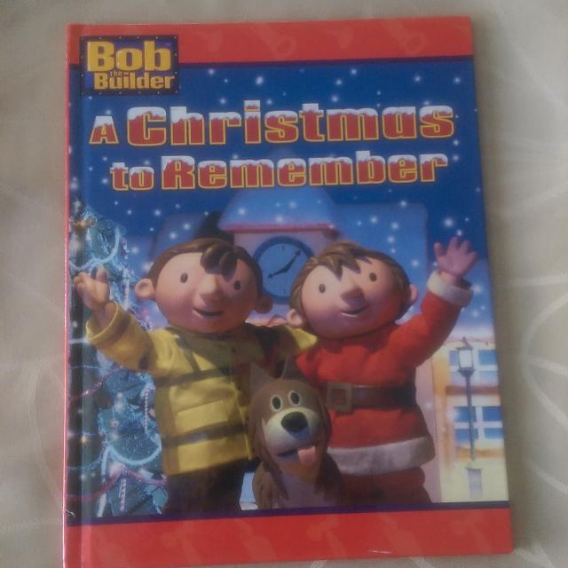 hard cover book bob the builder a christmas to remember - Bob The Builder A Christmas To Remember