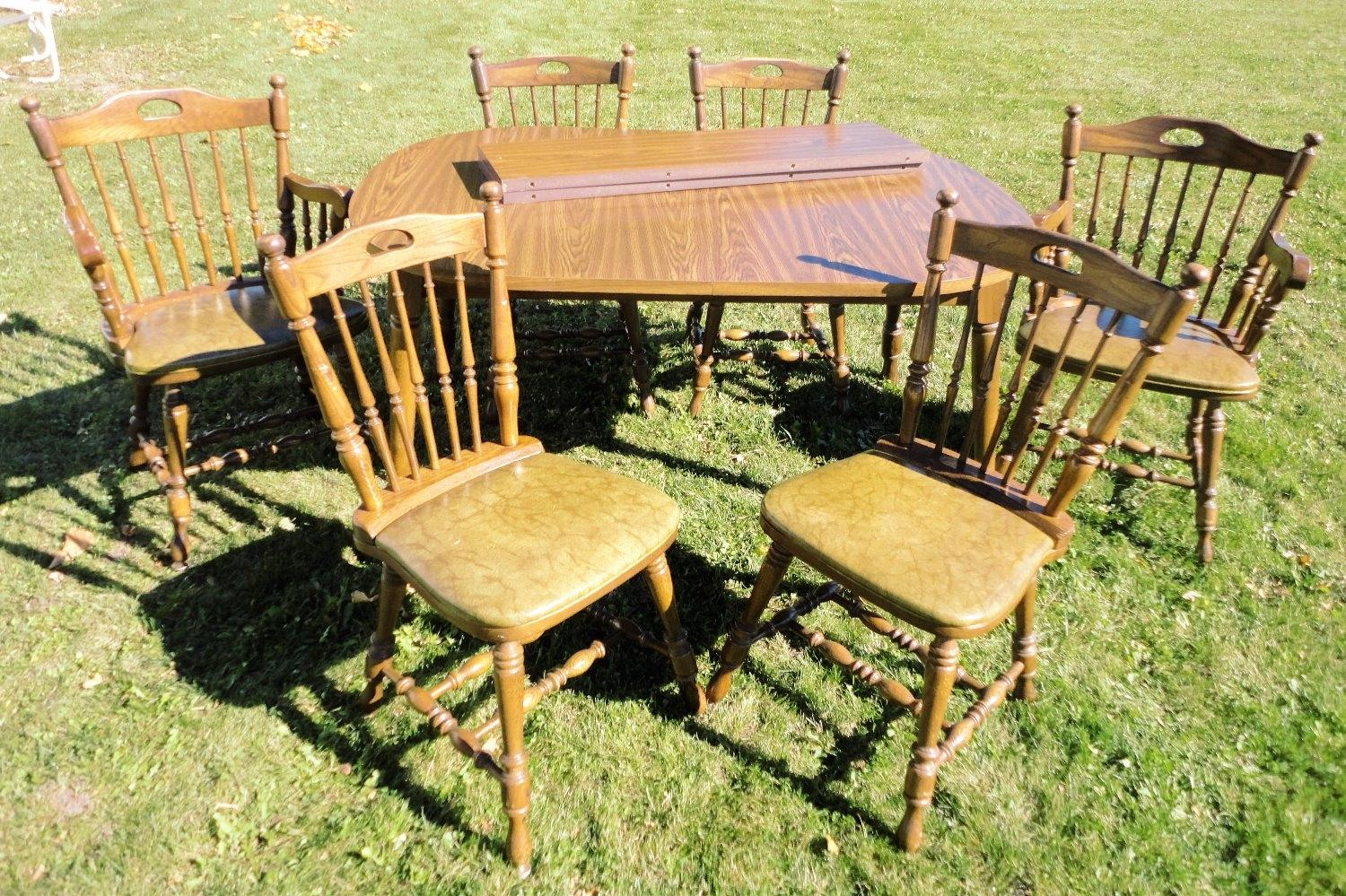 Find More Kitchen Table 6 Chairs Made By Richardson