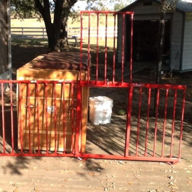 show pen divider single gate great buy! Used at show used at livestock show,
