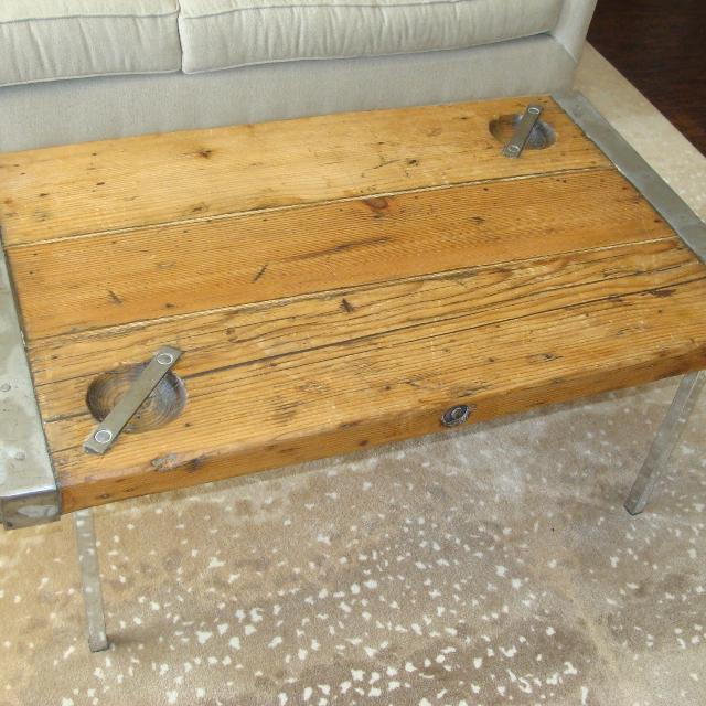 Find More Authentic Wwii Merchant War Ship Hatch Coffee Table With - Ship hatch coffee table